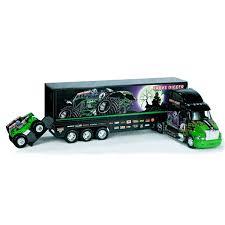 Grave Digger Monster Hauler Monster Jam Monster Trucks And Monsters