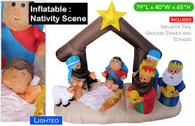 Christmas Yard Decorations Nativity Set by Cool Xmas Decorations For Outside Your House Christmas