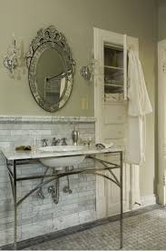 91 best bathrooms images on pinterest bathroom ideas room and traditional bathroom by sylvia martin marble honed subway tile on the wall with a marble mosaic pattern design on the floor