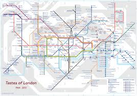 Marta Train Map Tastes Of London Tube Map U2013 Now Here This U2013 Time Out London