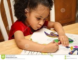 child coloring stock images image 4586254