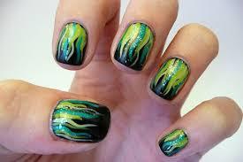 55 stylish green nail art design ideas for trendy girls