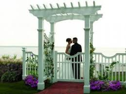 wedding arbors welcoming garden or wedding arbors penn fencing