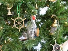 buy mayflower ship in a glass bottle tree ornament model