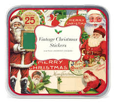 christmas stickers cavallini decorative stickers vintage christmas