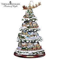 kinkade animated tabletop tree with