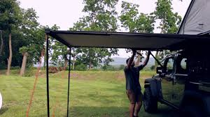 Awnings Usa James Baroud Awning And Annex Youtube