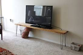 Hairpin Leg Console Table Tv Stunning Hairpin Leg Tv Stands Mid Century Modern Tv Table