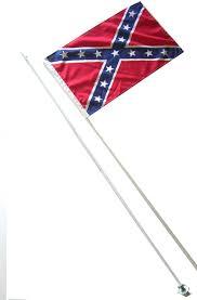 Led Whip Flags 2 Part Rebel Flag A9012rb 11 95 Atlantis Enterprises Atv