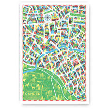 camden walk with me map design collective gifts