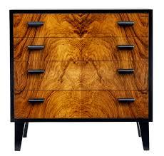1950 u0027s scandinavian art deco design small chest of drawers c