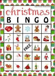 printable christmas bingo cards pictures printable christmas picture bingo cards christmas lights card with