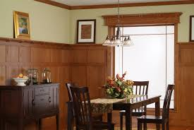 furniture outstanding oak paneling with table runner and wooden