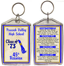 favors for class reunions class reunion favors personalized souvenirs for your high school