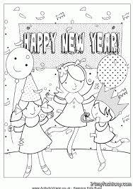 happy new year coloring pages images 2016 2017 b2b fashion