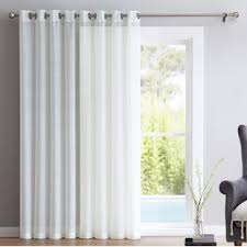Curtains For Sliding Doors Sliding Door Curtains Wayfair