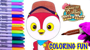 deputy peck coloring page fun sheriff callie wild west coloring
