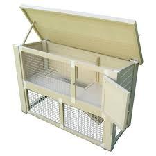 Indoor Hutch Amazon Com Ecoflex Indoor Rabbit Hutch Garden U0026 Outdoor