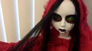 halloween doll wig my new halloween doll youtube