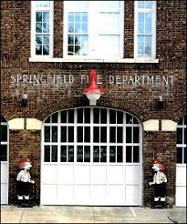 Springfield Overhead Door Glass Station Roll Up Doors And Firehouse Garage Doors