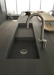 Ceramic Kitchen Sinks Kitchen Design Breakfast Bar Black Solid Modern Sink Design