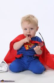 Superman Halloween Costume Toddler Clark Kent Superman Baby Costume Photo 2 4