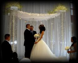 chuppah canopy acrylic wedding canopy chuppah altar rentals miami south florida
