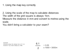 Map Distance Calculator Paper 2 B Ring To Your Exam Calculator Protractor Pencil Ruler