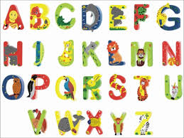 animal shaped letters for kids free kiddo shelter alphabet and