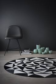 White Round Rugs Danish Designed Leather Rugs From Wovenground The Design Sheppard
