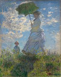 the monet family in their garden at argenteuil woman with a parasol madame monet and her son wikipedia