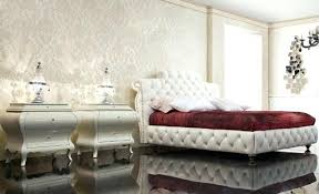 modele de chambre a coucher deco chambre tapisserie papier peint adulte de couleur taupe