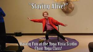 Chair Yoga Class Sequence Staying Alive