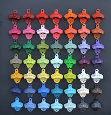 bottle opener wall mount made in usa choose your color