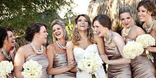 bridesmaid statement necklaces pearl twisted chunky statement necklace bridesmaid bridal