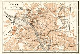 york city on map map of york in 1906 buy vintage map replica poster print or