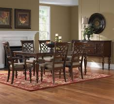 Traditional Dining Room Set by Standard Furniture Woodmont 5 Piece Counter Height Table