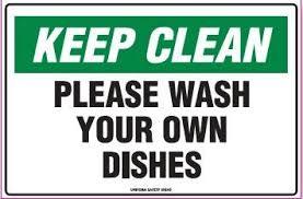 on break sign for desk printable keep breakroom clean signs keep clean sign please wash