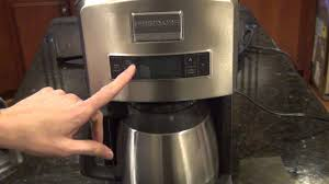 Coffee Maker With Grinder And Thermal Carafe Frigidaire Professional Thermal Carafe Coffee Maker Comparison
