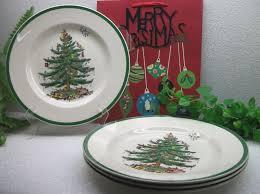 spode tree 10 3 4 dinner plates s3324 v w ebay