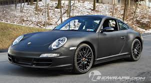 porsche wrapped matte black 3m vinyl porsche 911 wrap for executive poconos
