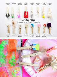 16 homemade paint brushes babble dabble do