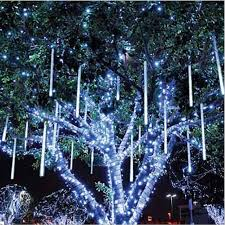 80cm drop icicle snow fall string led tree decoration