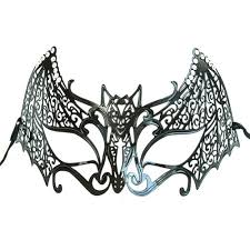 black masquerade masks for women black bat metal mask for women masquerade express