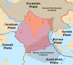Where Is Nepal Located On The World Map by Indian Plate Wikipedia