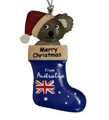 Cheap Christmas Decorations Online Australia by Koala Christmas Stocking Ornament Australia The Gift Souvenirs