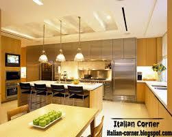 Latest Italian Kitchen Designs Italian Kitchen Designs With Pop Ceilings