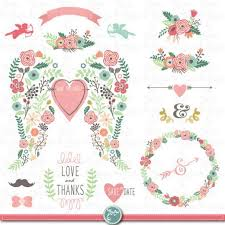 wedding clipart pack