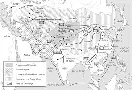 the mongol empire and inter civilizational exchange
