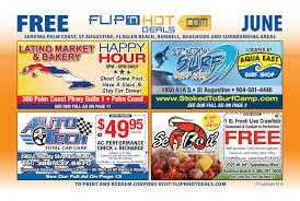 Crazy Buffet West Palm Beach Coupon by Flip U0027nhot Deals Coupon Book Jun 2016 Palm Coast St Augustine